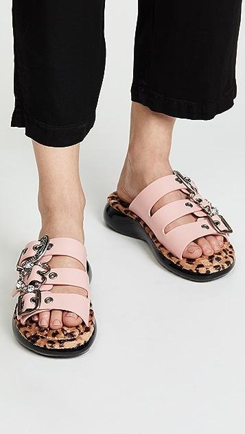 Marc Jacobs Emerson Buckle Sport Sandals
