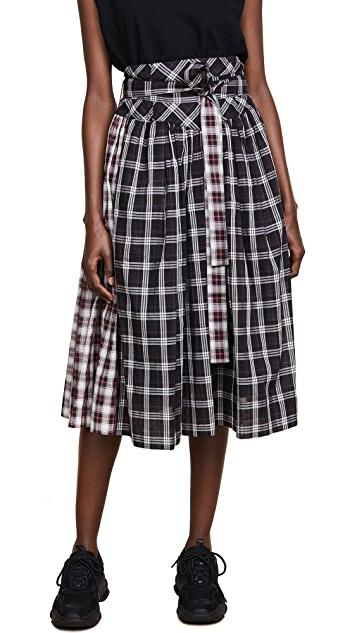Marc Jacobs Full Skirt with Belt