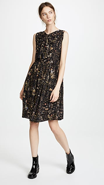 Marc Jacobs Sleeveless Dress with Bow