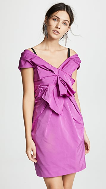 Marc Jacobs Off Shoulder Mini Dress with Bow