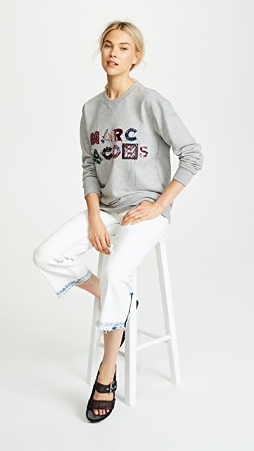 Marc Jacobs Lux Embellished Sweatshirt