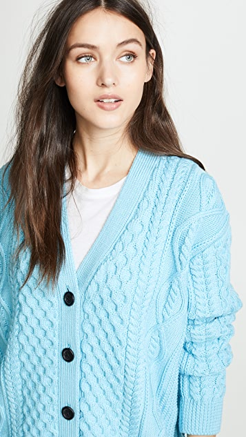 Marc Jacobs Cable Cardigan