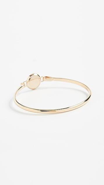 Marc Jacobs Logo Disc Hinge Bracelet