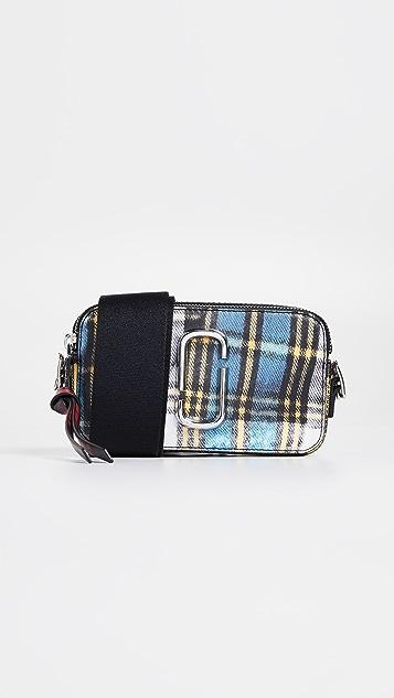 Marc Jacobs Snapshot Tartan Camera Bag