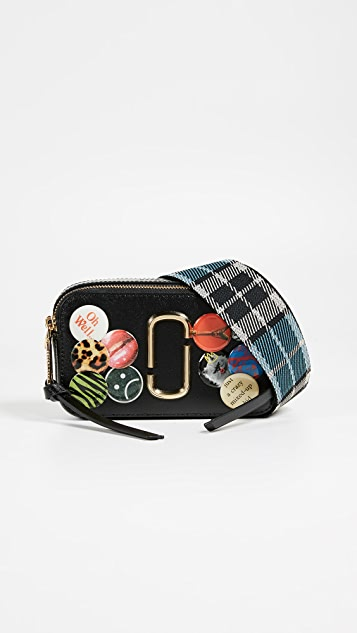 Marc Jacobs Snapshot Badges Camera Bag