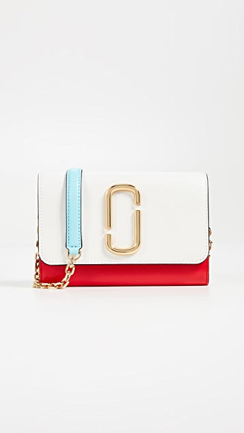 7113f87b9 Marc Jacobs Snapshot Wallet on a Chain