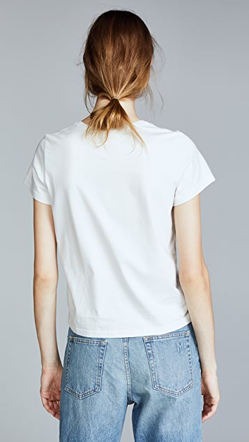 Marc Jacobs Love T-Shirt with Crystals