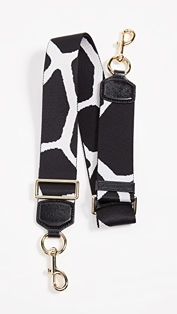 The Marc Jacobs Giraffe Webbing Strap