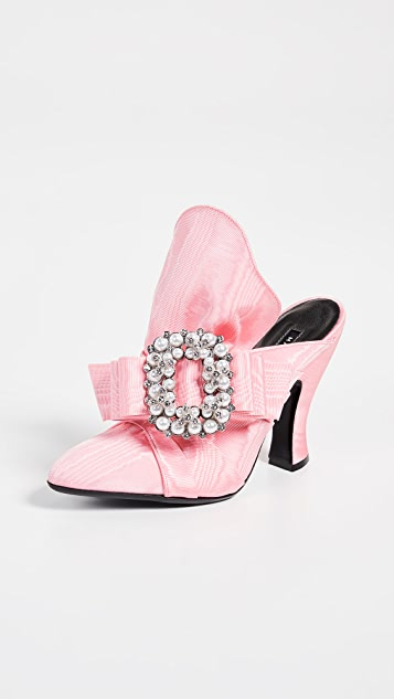 The Marc Jacobs Imitation Pearl Embellished Mules