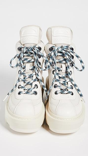 Marc Jacobs Туристические ботинки на танкетке Shay