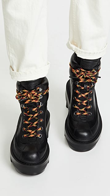 The Marc Jacobs Shay Wedge Hiking Boots