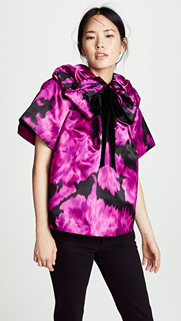 Marc Jacobs Blouse with Rosette Collar
