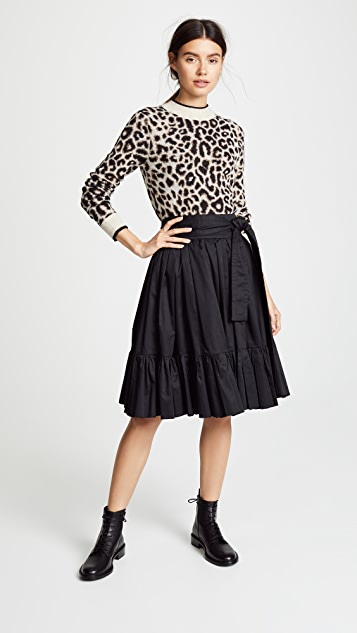 Marc Jacobs Belted Knee Length Skirt