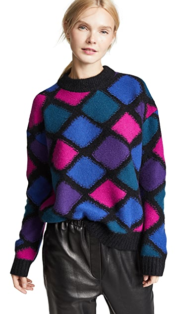 Marc Jacobs Mock Neck Cashmere Sweater