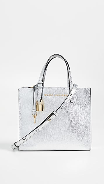 Mini Grind Metallic Tote by Marc Jacobs