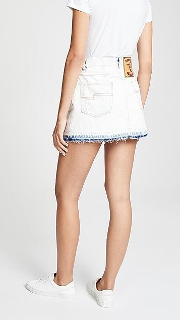 Marc Jacobs Bleached Miniskirt