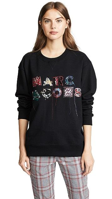 Marc Jacobs Lux Embellished Sweatshirt