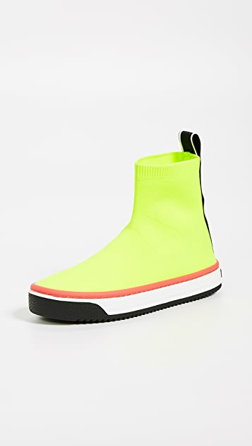 Marc Jacobs Dart Sock Sneakers - Yellow