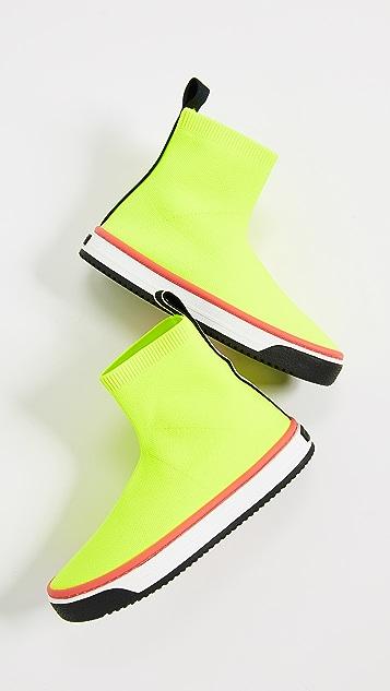 Marc Jacobs 捏褶袜式运动鞋