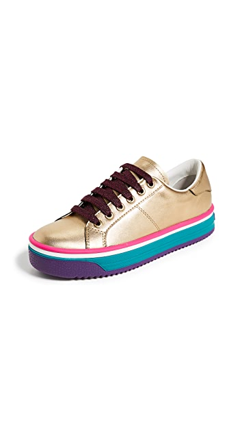 Marc Jacobs Empire Multi Color Sole Sneakers