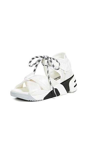 Marc Jacobs Somewhere Sport Sandals with Socks