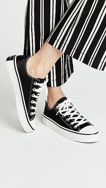 Marc Jacobs Grunge Low Top Sneakers