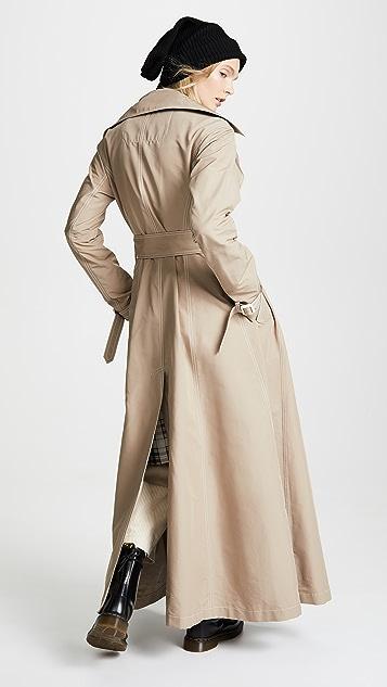 Marc Jacobs Redux Grunge Full Length Trench Coat