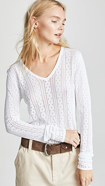 Redux Grunge V Neck Pullover by Marc Jacobs