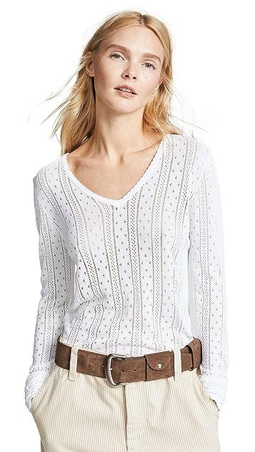 Marc Jacobs Пуловер Redux в стиле гранж с V-образным вырезом