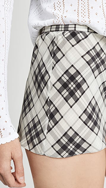 Marc Jacobs Redux Grunge Plaid Shorts