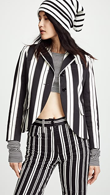The Marc Jacobs Redux Grunge 3/4 Sleeve Blazer