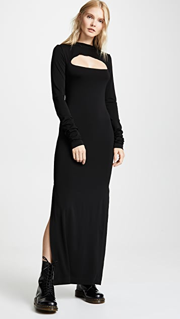 Marc Jacobs Redux Grunge Yoke Cutout Dress