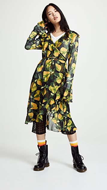 Marc Jacobs Redux Grunge Bell Sleeve Dress