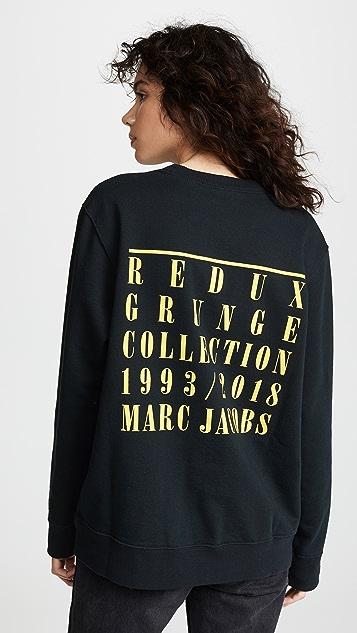 Marc Jacobs Толстовка Redux Bootleg в стиле гранж