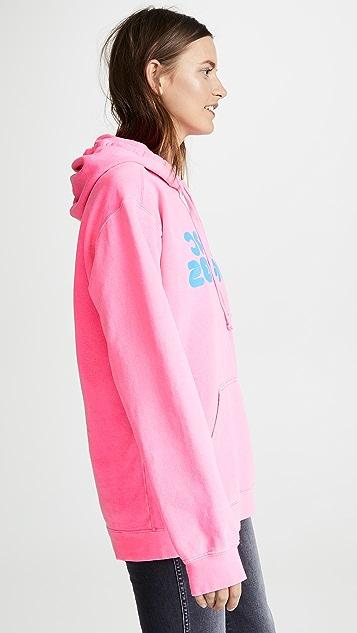 Marc Jacobs Fluorescent Logo Hoodie