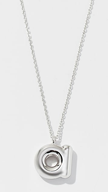 Marc Jacobs Bubbly Pendant Necklace