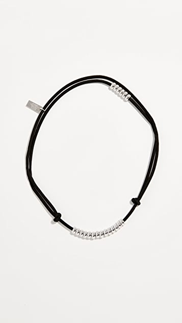 Marc Jacobs Suede Cord Choker