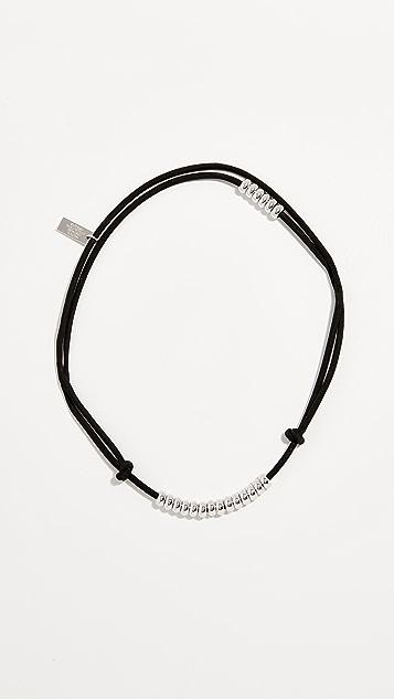 Marc Jacobs Замшевое колье-ошейник со шнуром