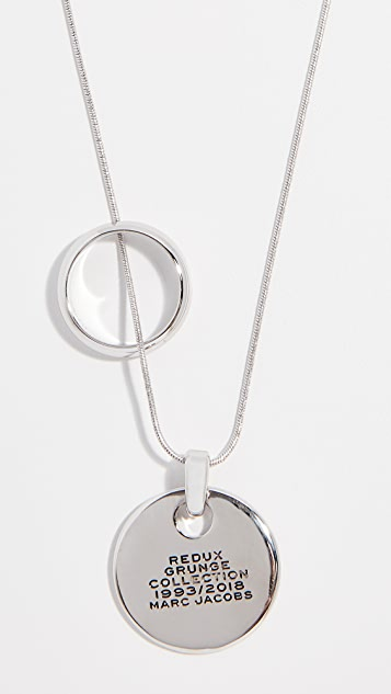 Marc Jacobs Redux Grunge Medallion Pendant Necklace