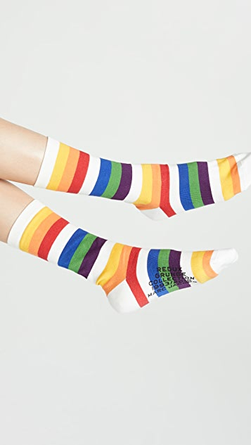 Marc Jacobs The Rainbow Socks