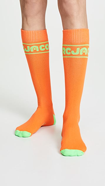 Marc Jacobs The Day-Glo Sports Socks