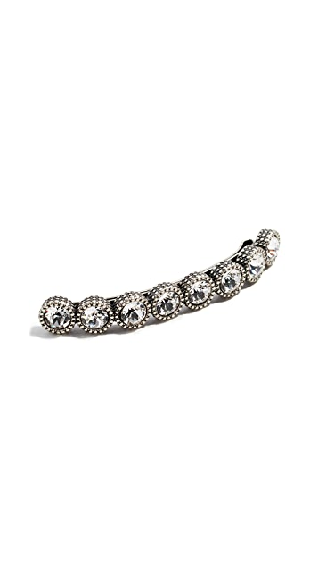 Marc Jacobs Crystal Barrette