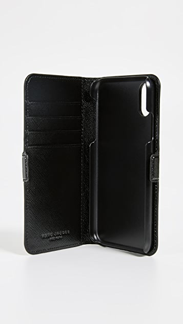 Marc Jacobs Double J Folio iPhone XR Case