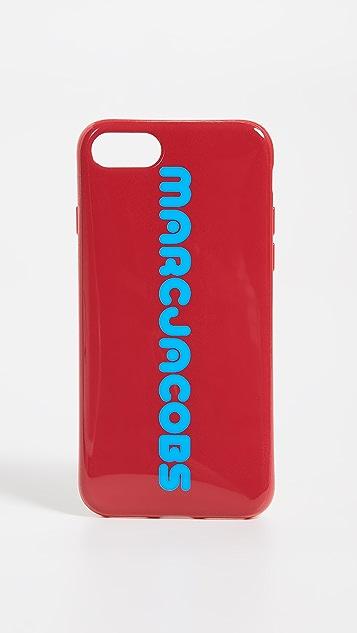 Marc Jacobs 徽标 iPhone 8 手机壳