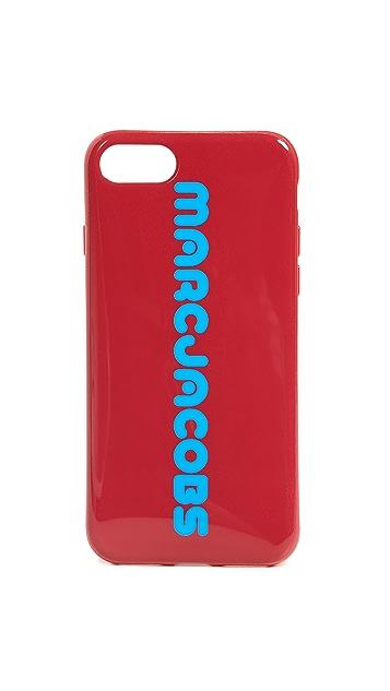 Marc Jacobs Чехол для iPhone 8 с логотипом