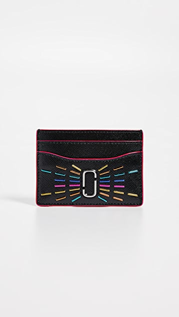 The Marc Jacobs Snapshot Confetti Card Case