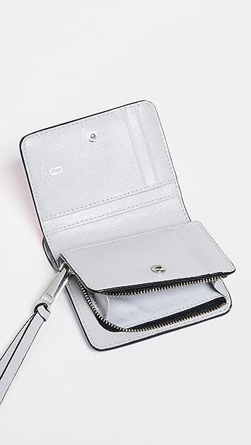 Marc Jacobs Миниатюрный компактный кошелек Snapshot