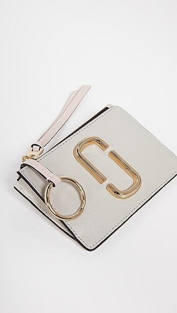 The Marc Jacobs Snapshot Top Zip Multi Wallet