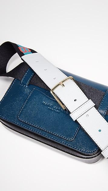 Marc Jacobs Поясная сумка-трансформер M / L Hip Shot Marc Jacobs