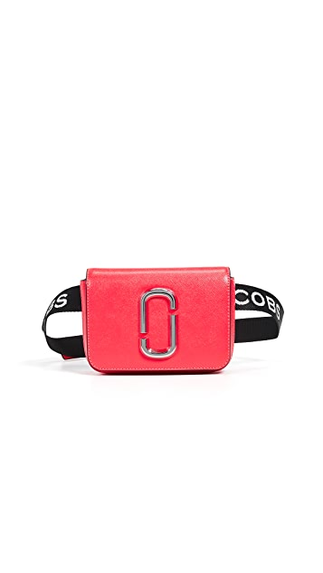 Marc Jacobs M/L Hip Shot Fluoro Convertible Belt Bag